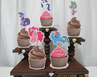 My Little Pony Cupcake Toppers (Set of 12)