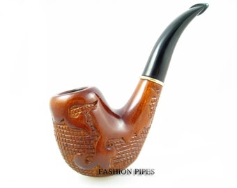 """ART Carving """"VERSAL"""" Tobacco Smoking Pipes/Pipe Handmade, Exclusive Design.....LOWEST Price......& Gift"""