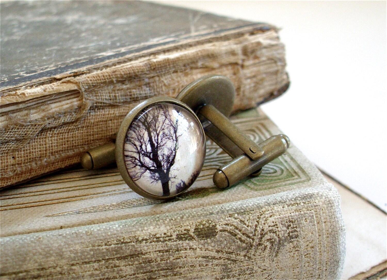 Les boutons de manchettes arbre aube par thelysinecontingency - Mettre bouton de manchette ...