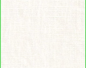 Ivory Medium Weight Linen Fabric-15 yard bolt