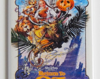Return to Oz Movie Poster Fridge Magnet