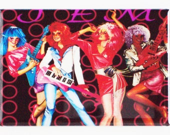 Jem and the Holograms Fridge Magnet (2 x 3 inches)