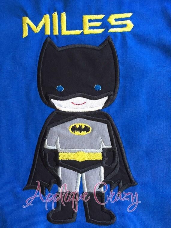 Batboy Applique design