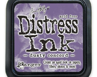 Tim Holtz Distress Ink Pad -Dusty Concord
