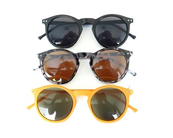 Reto Sunglasses in 3 Colors - 100% UV Protection