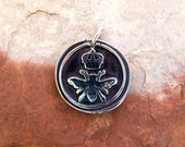 Queen Bee Silver Pendant