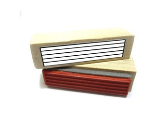 Long Guitar Tablature / Tab Stamp! 6 Strings - Makes you a more capo - ble player!