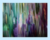 Original Painting, Abstract Painting, Acrylic Painting, Wall Art, Coat of Many Colors, II