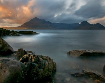 Cuillin Sunset from Elgol, Isle of Skye