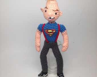 Ghostbusters Amigurumi Pattern : Bill Murray as Venkman Ghostbusters Inspired Amigurumi Crochet