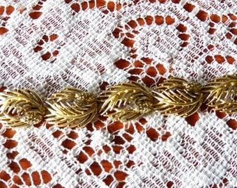 Another Stunning Lisner Leaf Bracelet