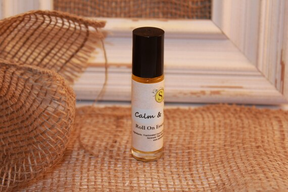 Calm & Relax / Essential Oil Roll On/ 100% Natural / Essential Oil Perfume