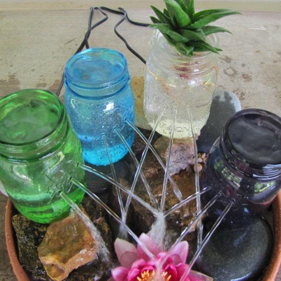 Items Similar To Diy Mason Jar Water Garden Fountain Kit