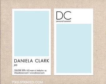 simple business cards - thick, color both sides - FREE UPS ground shipping
