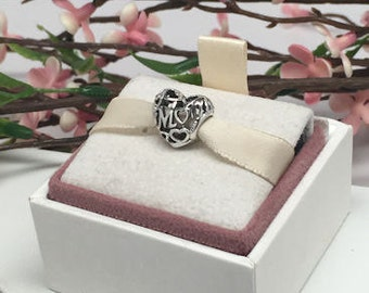 Authentic Pandora Motherly Love Mom charm BEAUTIFUL
