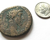 Ancient Roman Imperial Coin: Commodus 180-192 CE (Over 1800 Years Old) - 004