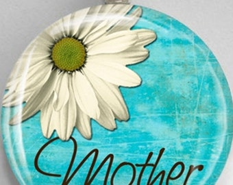 Interchangeable Magnetic Mother Daisy #30 Mother's Day Pendant Necklace