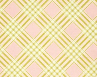 Ginger Snap by Heather Bailey for Free Spirit - Coat Check - Pink - 1/2 yard cotton quilt fabric 516