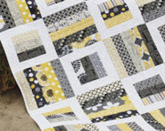 Radio Way Print Quilt Pattern by Jaybird Quilts