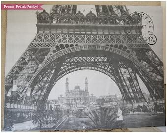 Paris Backdrop Printable, Paris Wall Art, Eiffel Tower, Digital Backdrop, Wedding Backdrop, Paris Photography, Paris Party, INSTANT DOWNLOAD