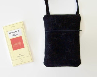 Sling Bag, Cell Phone Purse, Small Purse, Cross Body Purse, iPhone 6 Plus Case