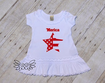 Baby 4th of july dress, Child 4th of july Dress, 'Merica dress, Merica outfit, 4th of july dress, fourth of july dress, 4th of july outfit