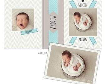 Instant download - Image/Proof box design - E861