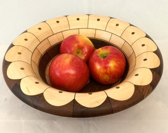 Maple and Walnut Bowl B30