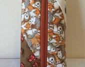 Cute Woodland Animal Zippered Bag