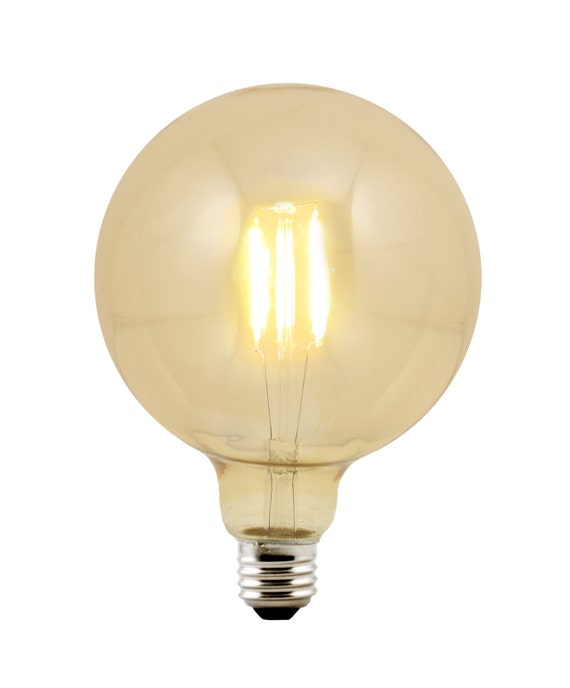 LED G40 Globe 5-inch diameter Bulb Medium Base E26 - Replacement for Urban Chic Chandy