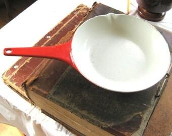 Copco enameled cast iron pan
