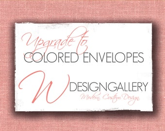 Colored Matte A2 Envelopes for RSVPs