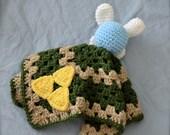 Legend of Zelda Fairy Lovey Blanket --security blanket