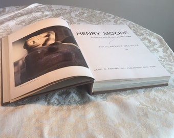 Henry Moore: Sculpture and Drawings 1921-1969 / Vintage Hardcover Book