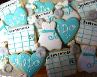 Wedding Favor Cookies (2Dozen)