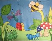 Garden Mural, Garden Part...