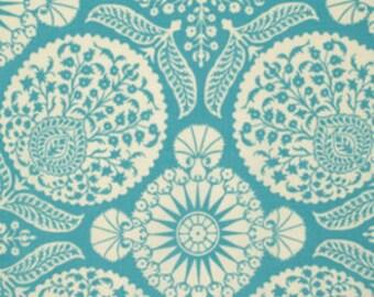 Joel Dewberry Fabric - 1 Metre FLORA, Bazaar in Eucalyptus