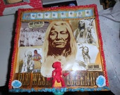 Native American Art Box Altered Boxes  American Indian Art Box Native American Collection  Papoose Indian Squaw Chief Sitting Bull