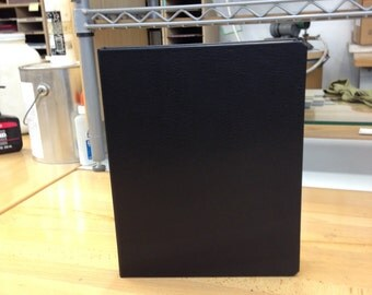 iPad 2-3-4  BookCase in Black Bonded Leather