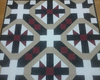 Bow Tie baby or lap quilt