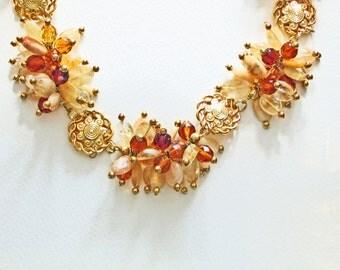 Golden Sunshine-Crystal-Gemstone-Necklace