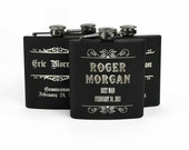 Personalized Groomsmen Gift, Engraved Flasks, Groomsmen Flasks, Bridesmaid Flasks, Bridal Party Flasks