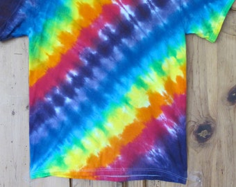 Rainbow Tie Dye Infant and Toddler T-Shirt