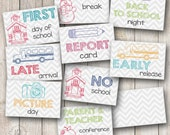 School Year Set, Set of 108 - Planner Stickers