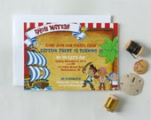 Jake and the Neverland Pirates Invitations