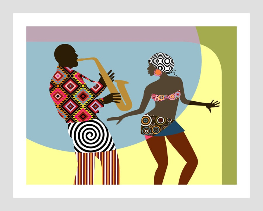 Popular items for african art painting on Etsy