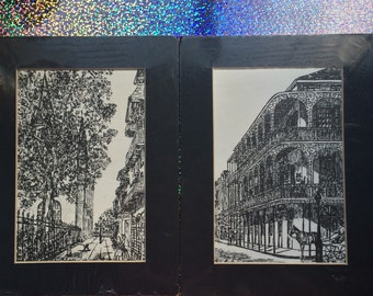 REDUCED TO SELL!! New Orleans Drawings