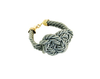 Sage green rope bracelet. Rope knot bracelet, braided bracelet