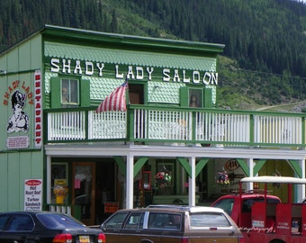 Western Saloon / Cowboy Saloon / Saloon Photograph / Bar Print /  Free US Shipping / MVMayoPhotography
