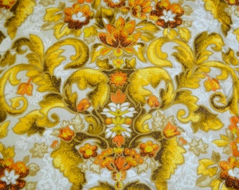 Vintage Fabric, Quilted Fabric, Wonderful Design, Small Piece